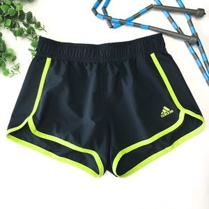 Adidas Athletic Running Exercise Shorts Elastic